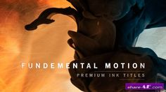 Videohive Fundamental Motion Ink Titles - After Effects Templates
