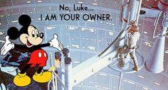 Disney bought Lucas films