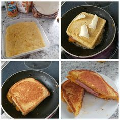 "If you're on a low carb or keto diet you must try this 90 second bread turned into a GRILLED CHEESE! This brilliant idea was made by Christina Kruger-Harris and was lovely to share with us! She said ""Soooo ladies here is a game changer! I made the coolest 90 keto mug bread in a …"