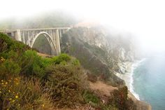 8 stunning views around the world that you must see | jauntblog.co | bixby bridge, big sur, california