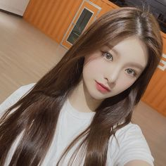 Cute Korean Girl, Cute Asian Girls, Beautiful Asian Girls, Cute Girls, Kpop Girl Groups, Kpop Girls, Profile Picture For Girls, Forever, Ulzzang Girl