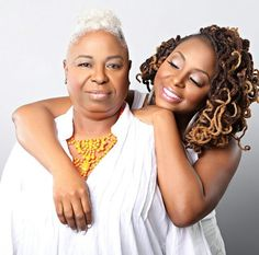 Ledisi and her mom