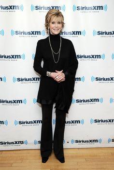 Over 50 Clothing Styles | Dec. 2012 Jane Fonda (75) Style Evolution ... | Fashion Over 50