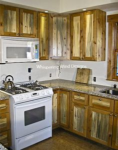 Beetle-kill-pine_Jenkins-03 & beetle wood kitchen cabinets | Colorado Beetle Kill Pine Kitchen ...