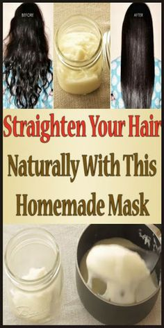 Straighten Your Hair Naturally With This Homemade Mask - Page 4 of 4 - Your Health Hair Loss Cure, Stop Hair Loss, Prevent Hair Loss, Homemade Shampoo, Homemade Face Masks, Homemade Moisturizer, Home Remedies For Hair, Hair Loss Remedies, Diy Hairstyles