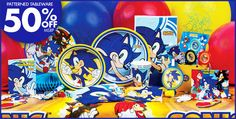 Sonic Party Supplies - Sonic Birthday - Party City
