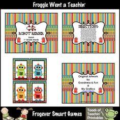 Skill: Children will practice reading Dolch 1st Grade Words.Grade Level:Kindergarten through Third Grade, Special Education, ESLYou will re...