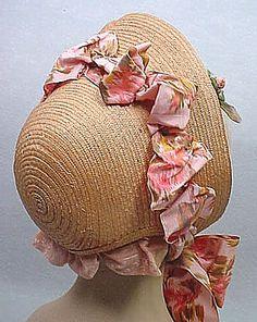 1860's Straw Bonnet