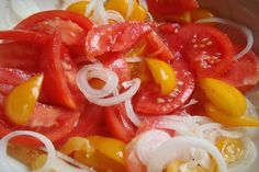 Greek tomato salad like my mom used to make!