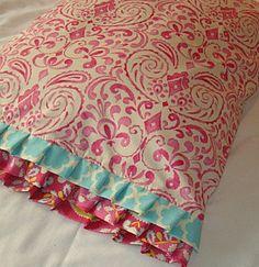 Kumari Garden Toddler Bedding Pillow Case / Sham by IronAndThread, $18.50