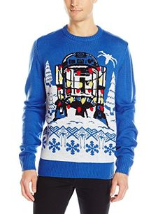 Star Wars Mens R2D2 Gift Wrap Sweater @ niftywarehouse.com #NiftyWarehouse #Geek #Products #StarWars #Movies #Film