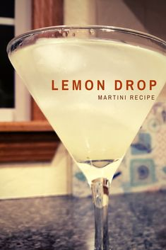 Fresh Squeezed Lemon Drop Perfect drink for a night at home or bring to your next gathering! Read about how you can transport it anywhere you're going. Sugar In Drinks, Lime Drinks, Dessert Drinks, Bar Drinks, Refreshing Drinks, Cocktail Drinks, Beverages, Drinks With Vodka, Vanilla Vodka Drinks