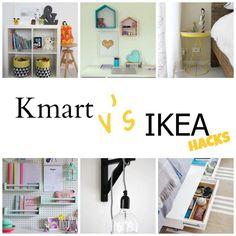 Kmart Hacks V's Ikea Hacks...