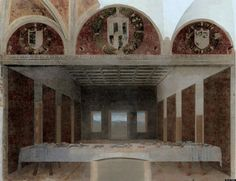 Versão abandonada de A Santa Ceia, de Leonardo da Vinci, Bence Hajdu.