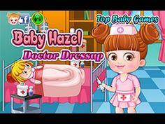 baby hazel doctor dressup | baby doctor dress up games for girls & kids