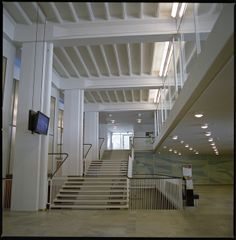 Porthania Building, Helsinki University - Entrance lobby Helsinki, Finland Aarne Ervi, architect 1950-1957
