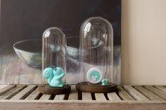 Betty eekhoorn spaarpot & magneet ocean | écureuil tirelire & aimant | squirrel money box & magnet