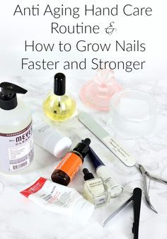 Nail Care, Nail Care Routine, Hand Care, Hand Care Routine, Hand Care Tips at Home, Hand Care Tips, Stronger Nails, Grow Stronger Nails, How to Grow Nails Faster, Brittle Nails, Anti Aging Hand Treatment, Anti Aging Hand Cream, Anti Aging Hands, Anti Aging Hand Care,