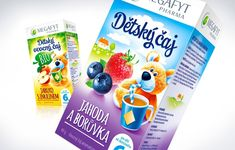 Megafyt Pharma - Children's teas on Packaging of the World - Creative Package Design Gallery