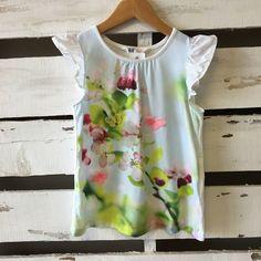 H&M Butterfly Sleeveless Shirt