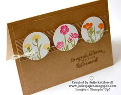 Stampin' Up! UK Order Online 24/7 - Julie Kettlewell: Wild About Flowers