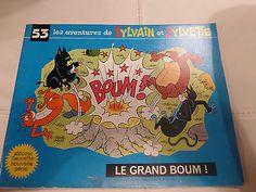 Les aventures de Sylvain et Sylvette N ° 53 Le grand boum!  1972 éditions Fleurus