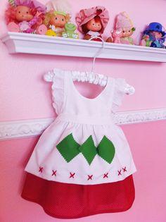 Vintage Strawberry Shortcake Dress