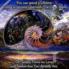 Yes, we are already 'one' must mostly we believe we are totally separate from one another. #spiritual