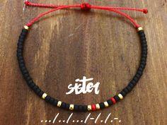 Sister Morse Code Bracelet - Friendship Bracelet - Best Friend Gift - Best Friend Bracelet - Gift for Her - Sister Bracelet