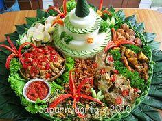 / Food Art Painting, Yellow Rice, Pastel, Food Garnishes, Indonesian Food, Rice Bowls, Creative Food, Allrecipes, Cobb Salad