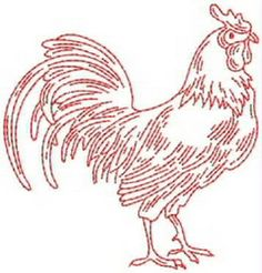 The Creative Leader in Quality Machine Embroidery Embroidery Applique, Cross Stitch Embroidery, Embroidery Patterns, Machine Embroidery, Chicken Crafts, Chicken Art, Chicken Quilt, Chicken Pattern, Chickens And Roosters