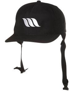 SURFSTITCH - SURF - SURF HATS - WEST SURF CAP - BLACK Wetsuit fa485fefa62c