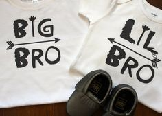 Big Brother Little Brother Shirts, Matching Brother Sibling Set, Big Bro Little Bro Shirts, Big Bro, Lil Bro by PurpleAspen on Etsy