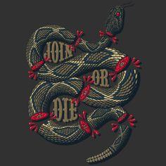 rattlesnake tee shirt design - Custom T Shirt Design