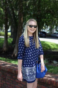 Stephanie Kamp Blog: Elephant Print Shift Dress