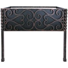 """35.5"""" Paisley Bathroom Vanity Base with Front Legs at Timeless Wrought Iron"""