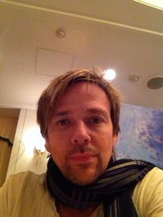 I'm guessing that's a new scarf. Sean Patrick Flanery, Norman Reedus, I Said, Sexy
