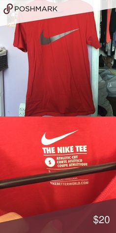 Nike t shirt mens Red Nike t shirt for men Nike Tops Tees - Short Sleeve