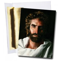 """Jesus painting by Akiane Kramarik titled """"Prince of Peace"""" Note Card Set of 8 cards.  Featuring the Jesus painting as seen in Heaven is for Real"""