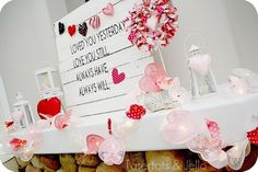 Pallet Valentine's Day Decorating Ideas