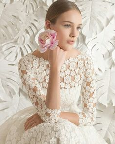 Cheap wedding dress, Buy Quality short wedding dress directly from China short wedding Suppliers: C.V Brief short wedding Dress 2017 new A line boat neck with sleeves midmum long white wedding dresses Tea Length Wedding Dress, White Wedding Dresses, Cheap Wedding Dress, Bridal Dresses, Wedding Gowns, Flower Girl Dresses, Wedding Lingerie, Mod Wedding, Dream Wedding