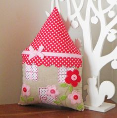 House Cushion $39.95 by Red Stitch Designs on Madeit