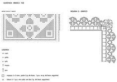 Materiais: - Linha Bella: 1 bola na cor 004 (cru); - Agulha para crochê nº 2 ½ ; - 2 botões na cor bege escuro.    PONTOS EMPREGADOS: Correntinha (corr.) Ponto Baixíssimo (p.bx.) – introduzir a ag., 1 laç., puxar o p. e passá-lo diretamente no p. da ag. Ponto Baixo