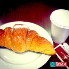 I love #combo: coffee + croissant... Perfect breakfast!