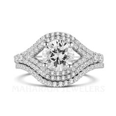 Custom Engagement Ring Houston Area  #EngagementRings #Rings #Houston #Jewelry #DiamondRings