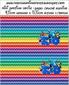 Rio: etiquetas para imprimir gratis. | Ideas y material gratis para fiestas y celebraciones Oh My Fiesta!
