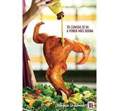 He elegido este anuncio y lo he clasificad aquí porque si compras esta salsa puedes invitar a cualquier chef que le  gustará tu comida.