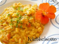 From Veggie to Vegan: Vegan Mofo - Kürbisrisotto