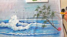 Mar com Onda em Tecido (Aula 76)