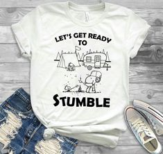 Camping Club, Camping Life, Camping Gear, Camping Hacks, Summer Sayings, Camping Sayings, Cool Shirts, Tee Shirts, Camper Signs